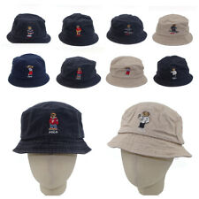 Baseball Cap Embroidery Hockey Teddy Bear Bucket Hat Sport Golf Bear Series Gift