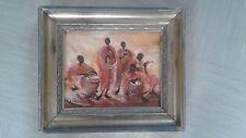 Pintura al óleo Vintage Firmado Armstrong