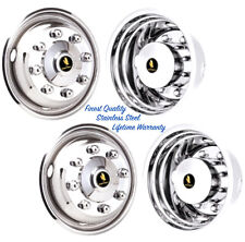 "17"" FORD F350 8 LUG 2005+ STEEL WHEEL SIMULATOR RIM LINERS HUBCAP WHEEL COVERS ©"