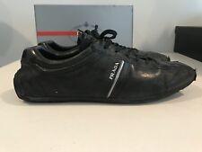 Mens Black Prada Sneakers Shoes Fancy Casual