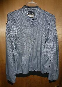 Zero Restriction ZR Golf Pullover Jacket Men's Black White - Size M