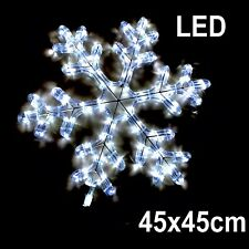 Snowflake Christmas Motif LED Rope light Indoor Outdoor Xmas Lights