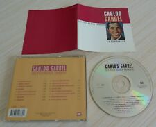 CD BEST OF SES PLUS BEAUX TANGOS CARLOS GARDEL 16 TITRES 1994 MADE IN ITALY