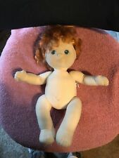 Vintage Mattel 1985 My Child Doll Red Hair Needs TLC