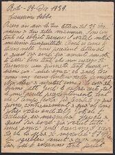 KT0822 Rodi (Grecia) 1939 - Lettera di un soldato italiano al babbo