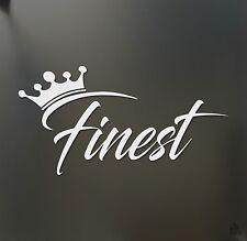 finest sticker crown racing Honda JDM Funny drift car WRX window decal
