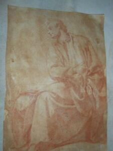 17th Century Italian Baroque Old Master Sepia Drawing