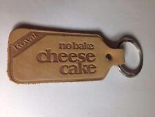 LEATHER ROYAL NO BAKE CHEESECAKE KEY CHAIN