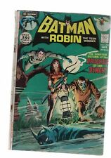 DC Comics Batman with Robin no 235 September 1971 25c USA