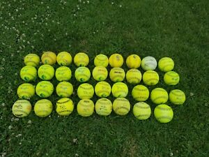 Classic M Softballs USSSA (Used Balls)