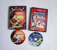 Disney's Christmas Favourites & Mickey Mouse's Once Upon A Christmas DVD Bundle