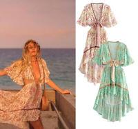 Women Ladies Long Maxi Dress Boho Holiday Beach Party Cocktail Summer Sundress