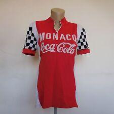 Maillot cycliste manches courtes MONACO COCA-COLA PATRICK NICOLAS 1983