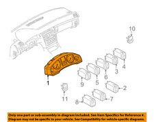 AUDI OEM 00-03 A8 Quattro Dash Cluster Switch-Instrument Cluster 4D0919931MX