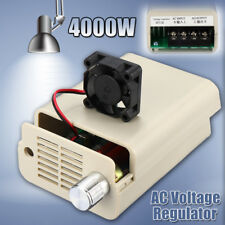 220V AC 4000W SCR Variable Voltage Regulator Motor Speed Control Controller Fan