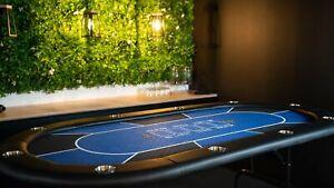 Texas Hold'em Poker Table - Blue