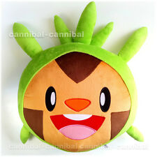 "~ Japan POKEMON - promotion - soft plush DOLL cushion - 16"" CHESPIN"