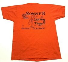 NEW VINTAGE Screen Stars Special Olympics Softball Shirt Sonny's Spring Thaw 91