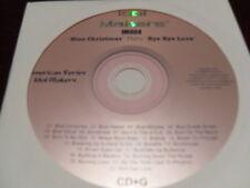 IDOL MAKERS KARAOKE IM004 BLUE CHRISTMAS THRU BYE BYE LOVE CD+G