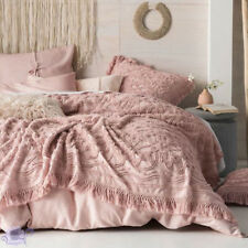 Linen House Rose Somers Bed Cover | Made from detailed Cotton Chenille