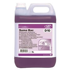 Suma Bac D10 Cleaner and Sanitiser  2 x 5 litre - CD517   Catering