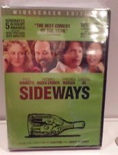 Sideways R (DVD, 2009 Widescreen) in English Spanish French 1 Disc