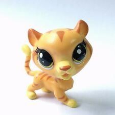 Original Mini Dolls LPS Littlest Pet Shop Zoo Animal Tiger Figure Girl Gifts Toy