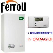 Caldaia condensazione Ferroli DIVACONDENS-D F28 KW  + cronotermostato