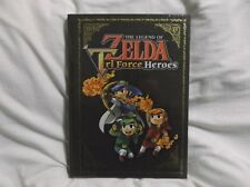 Legend Of Zelda Triforce Heroes Collectors Edition Strategy Guide Brand New