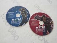 Ken El Guerrero Lote 2 Discos DVD Come De Foto Sin Funda Original Discos Ok