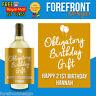 Personalised Spoof wine bottle label, Perfect Birthday/Wedding/Graduation Gift