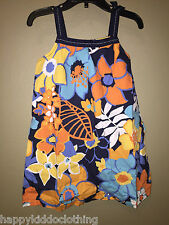 NWT Gymboree Tropical Bloom Floral Dress size 4 4t NEW 46.50