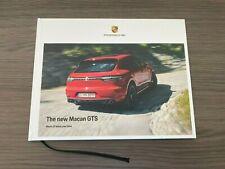 2021 Porsche Macan Gts Brochure Hardcover 2020