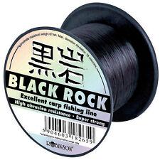 Robinson Black Rock 600m  monofile Angelschnur Schnur versch. Stärken Karpfen