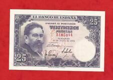 SIN SERIE, 25 PTAS DEL 22 DE JULIO DEL AÑO 1954