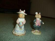 Royal Doulton Brambly Hedge Poppy Eyebright and Dusty Dogwood Figurines Jb 1982