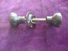 Vntage brown bakelite rimlock handles