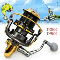 Metal Left/Right 13BB Interchangeable Spinning Fishing Reel Wheel High Speed