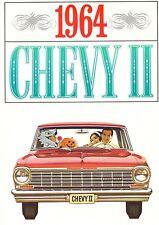 1964 Chevrolet Chevy II Nova Wagon Dealer Sales Brochure