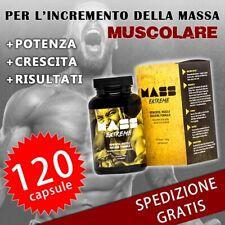 Mass Extreme Aumento Massa Muscolare Integratore Crescita Body Building Sport