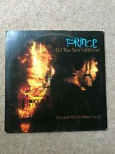 """Prince – If I Was Your Girlfriend - 1987 - USA 12"""" vinyl"""