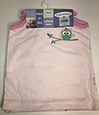 Little Wishes Baby Girl Size 9-12 Month Spaghetti Strap Tank Tops NWT