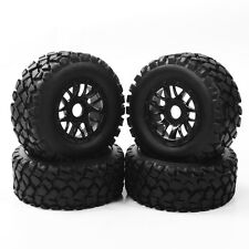 4X RC 1:10 Short Course Ruber Tires Rims Truck For HSP TRAXXAS SLASH 17mm Hex