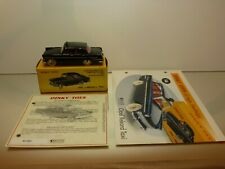 DINKY TOYS ATLAS 546 OPEL REKORD TAXI - BLACK 1:43 - EXCELLENT IN BOX