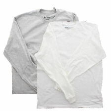 Nike Men's Loose Fit Cotton Athletic Active Long Sleeve Shirt Top 56323