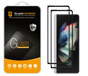 2X Full Cover Tempered Glass Screen Protector for Samsung Galaxy Z Fold 3 5G