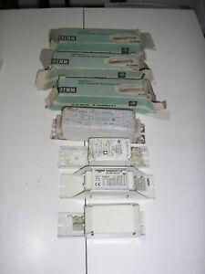 Lotto 7 Reattori Per Lampade Neon Fluorescenti assortiti 20-30-32-40w ricambi