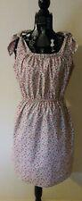 NEW Romance Floral Shoulder Tie Shift dress, size 12-14