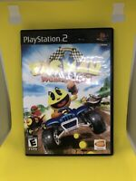 Pac-Man World Rally (Sony PlayStation 2, 2006) PS2 VG Complete CIB