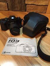 YASHICA 108 Kyocera 35 mm Multi Program Macro zoom vtg camera with lens & manuel